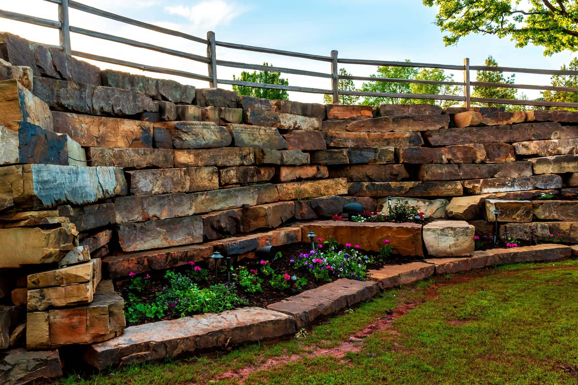 Cascading Rocks and Hi-End Outdoor Speakers at Esperanza Ranch