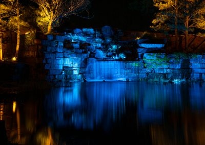 Esperanza Ranch Waterfalls with Blue Theme